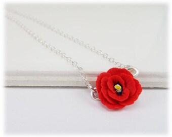 Tiny Poppy Necklace - Poppy Jewelry Collection
