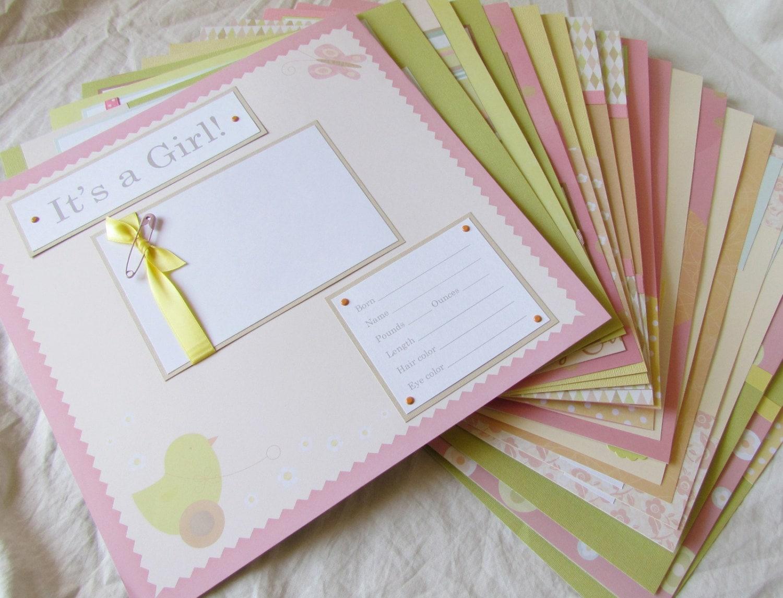 Scrapbook ideas baby milestones - Sold By Journeysofjoy