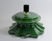 Replacement Ceramic Christmas Tree Base Atlantic Green made to order