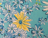 "daisy dance jacquard cotton fabric square 17""x17"" ~ lilly spring 2016 ~ lilly pulitzer"