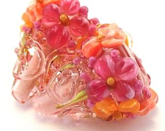 Peach Salsa Apricot Sparkle Cones