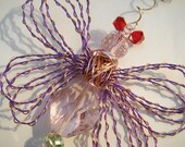 On Sale -A Fluttering Dragonfly! With Adjustable Wings! Dragonfly Ornament/HomeDecor/Large/Handmade/Fantasy! - number 10961