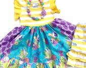 Tinkerbell dress, Disney clothing, Pink Momi boutique custom