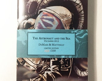The Astronaunt and the Sea Pocket Notebook Set