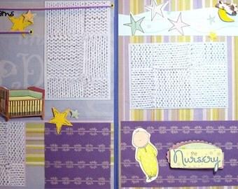 Scrapbook Premade Pages Baby - Kitsnbitscraps