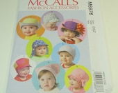 McCall's Infant Hat Pattern M6976 Size xs - xl NEW REDUCED PRICE