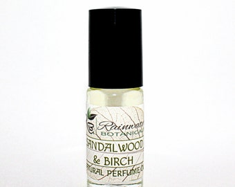 Sandalwood & Birch Perfume Oil