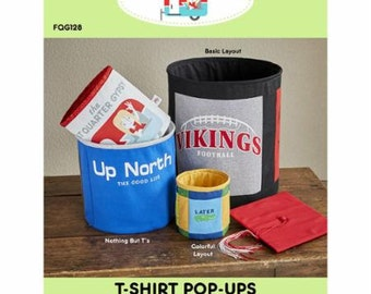 SALE T-Shirt Pop-Ups Pattern by Fat Quarter Gypsy