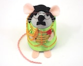 RESERVED John Lennon The Beatles Mice Mouse ornaments Sgt. Pepper's Lonely Hearts Club Band felt mice cute gift for the Beatles fan