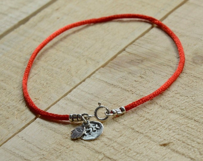Red String Protection & Positive Energy Anklet