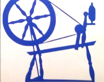 Vinyl Decal, SPINNING WHEEL