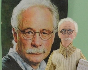 W.G. Sebald Doll Miniature Author Art Collectible