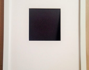 "11 x 14"" White Shadowbox Photo Frame  - Only 4 Left"