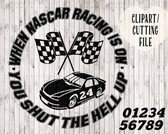 Nascar Svg Racing Svg Checkered Flag Svg Race Car Svg