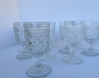 Anchor Hocking Glass Water Glasses