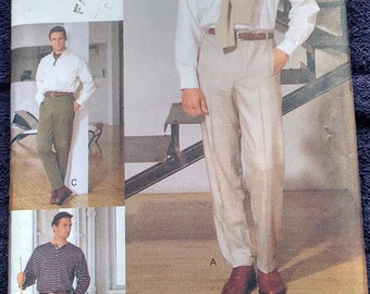 Vogue Mens Pants Pattern 8918