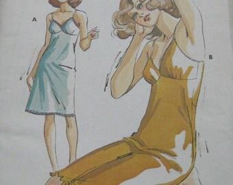 Kwik Sew Misses Slip Camisole Pattern 717