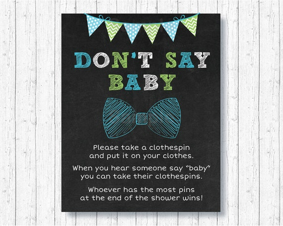 image about Don T Say Baby Free Printable titled 100+ No cost Printable Dress in T Say Boy or girl Bow yasminroohi