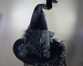 Black on Black childs hat
