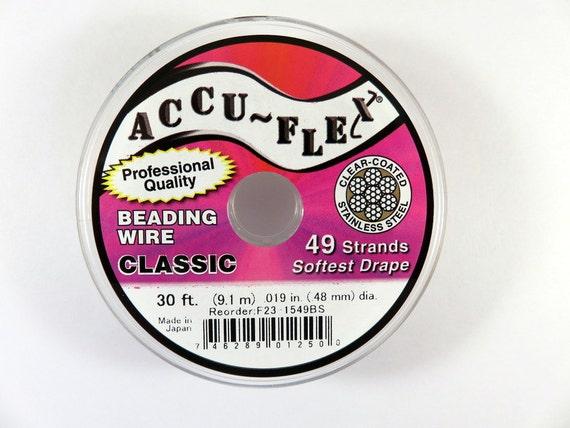 accuflex beading wire professional quality accu flex 49 strand
