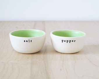 salt & pepper.