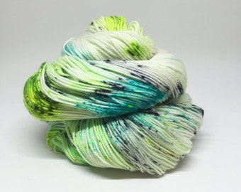 Dyed to order Hand Dyed Yarn - Toe Jam