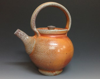 Teapot. 3 1/2 cup capacity. Soda fired Stoneware