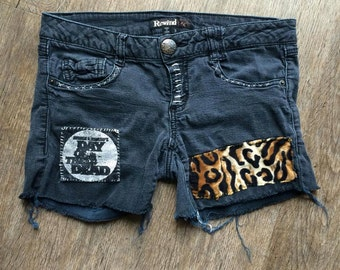 Day of the Dead Punk Shorts