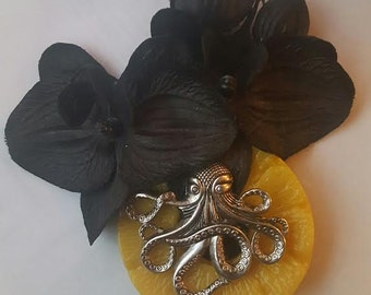 Orchid, Pineapple, Black orchid, Octopus, Tiki, Tiki orchid, Halloween, Fruit, Ready to ship, MsFormaldehyde