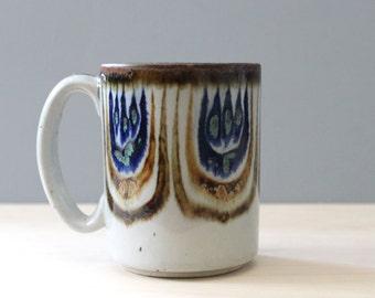 Vintage El Palomar Tonala stoneware mug.