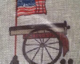 Vintage Americana Needlepoint Kit