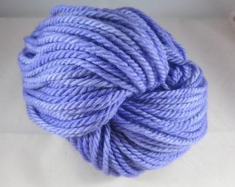 Hyacinth Semi-Solid Bulky yarn