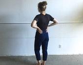Vintage Lee Pinstripe High Waist Jeans.