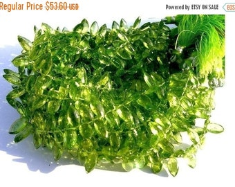 55% OFF SALE Set of 25 Pcs Genuine Peridot Faceted Marquise Briolettes Size 9x5-10x5mm approx Finest Quality, Natural stone, Wholesale Price