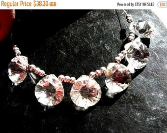 50% Off Valentine day 3 Matched Pairs 6pcs Genuine AAA Rock Crystal Quartz Concave Cut Heart Briolettes Size 12x12mm