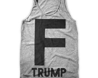 F Trump (Men's / Unisex Tank)
