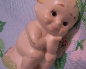 little glass cupie doll figurine