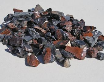 GB-500   Crushed Obsidian Rock Tumbler Tumbling Rough Stones Supplies