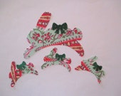 """Easter Bunny Family Appliques Iron On 6"""""""