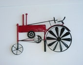 Yard Art - Metal Tractor