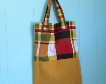 Two Fabric Tote
