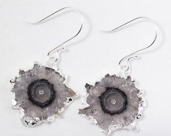 Amethyst Stalactite Crystal Earring Rare Amethyst Earring February Birthstone Raw Amethyst Stone Earring ST-E-112A-022s