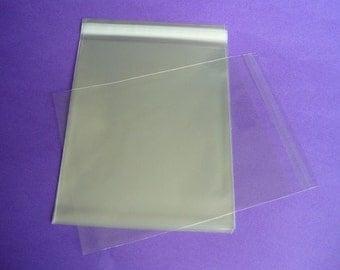 100 10 x 13 Clear Resealable Cello Bag Plastic Envelopes Cellophane Bag