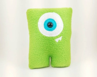 Green One-Eyed Monster Cyclops Alien Nubbin - Made To Order