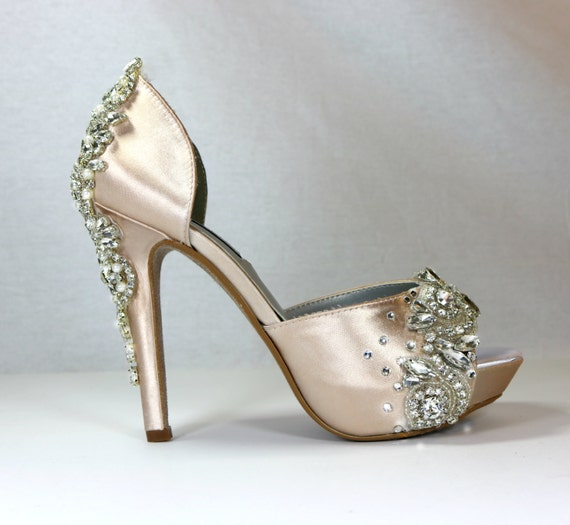 champagne color wedding shoes sparkling champagne wedding shoes champagne bridal shoes 2539