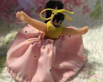 Mini found object doll