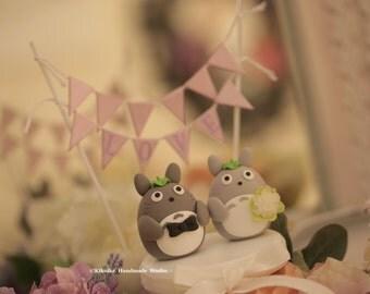 cake topper---Custom Order Deposit for the lovely Wedding Cake Topper (K 100)