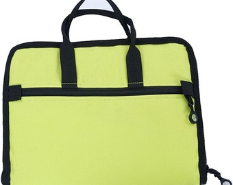 BlueFig Notions Bag in Lime