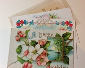 Postcards Happy Birthday Pick 2 Vintage -  Your Choice of Two