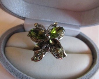 pretty butterfly ring
